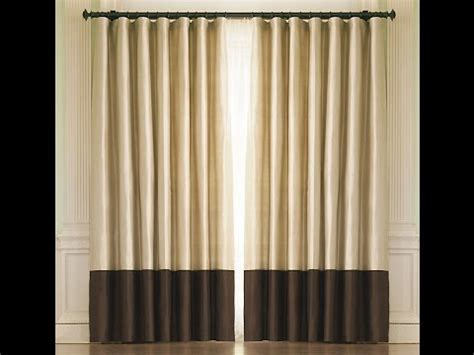 thrifted diy how to make your on two tone drapes