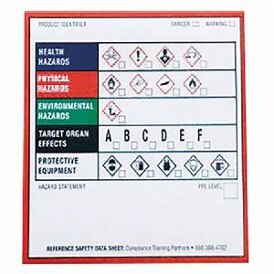 ghs chemical product labels 25 x 25 100pk supplies With chemical product labels