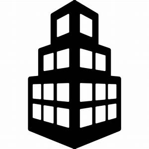 buildings, office, Building, Stepped icon