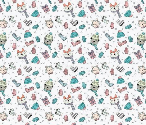 Animal Wallpaper Pattern - animal pattern fabric claudia ramos designs