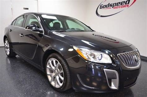 Buick Regal Manual Transmission by Purchase Used Regal Gs Turbo Navigation 6 Speed Manual