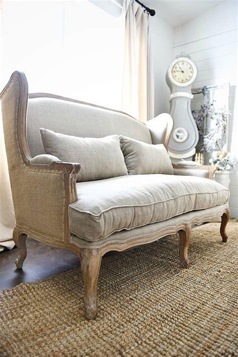Farmhouse Sofa by Upstairs Living Room Makeover New Sofa Sneak Peek