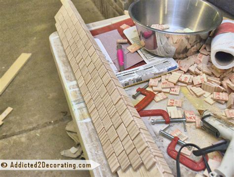 Mosaic Bathroom Mirror Diy by Bathroom Makeover Day 12 Mosaic Tile Mirror Made From