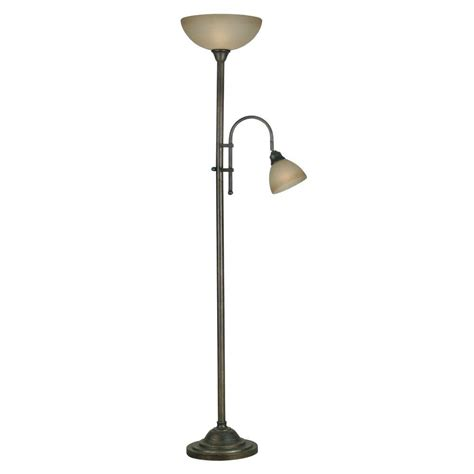 72 bronze torchiere floor l filament design cassiopeia 72 in rubbed bronze