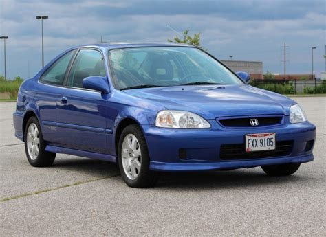 49k-mile 1999 Honda Civic Si For Sale On Bat Auctions