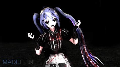 Mmd Hatsune Miku Slenderman Song Youtube