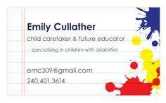 biz card images business cards teacher business