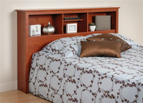 Cherry Headboard For Double Or Queen Bed By Prepac