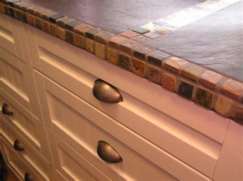 countertop tile edge outdoor kitchen construction some tile pictures
