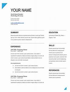 Easy to fill out resume formsresume blank template for Free fill in resume