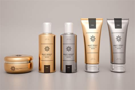 You can easily key features of this mockup. Cosmetic Products Packaging Mockup Free PSD | Download Mockup