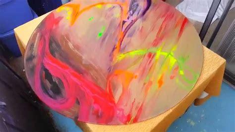acrylic paint  glass youtube