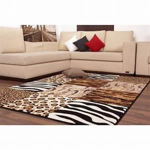Tapis Beige Salon : tapis rouge pour salon maison design ~ Teatrodelosmanantiales.com Idées de Décoration