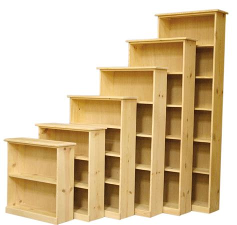 Pine Bookcases Furniture by The Furniture In The Solid Pine Bookcases Are Ready To