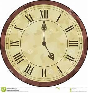 Uhr Römische Zahlen : antike uhr der r mischen ziffer vektor abbildung bild 52131212 ~ Orissabook.com Haus und Dekorationen