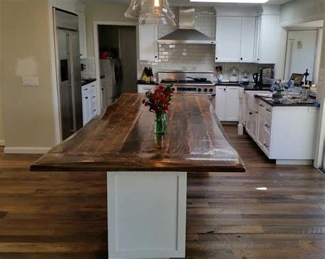 wood island tops kitchens u s reclaimedu s reclaimed