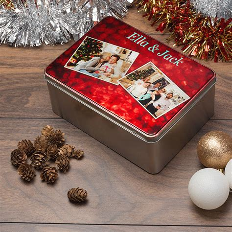 personalized cookie tins custom cookie tins