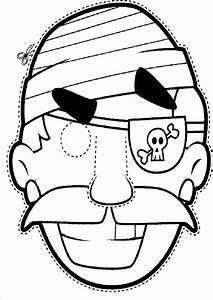 Ausmalbilder, Malvorlagen, Masken
