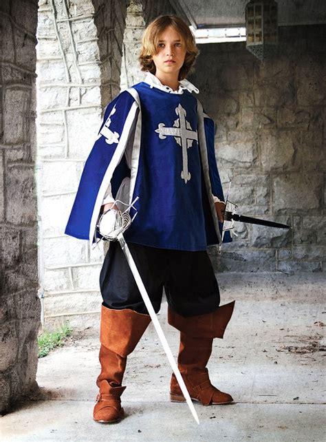 larp costume musketeer tabard  children