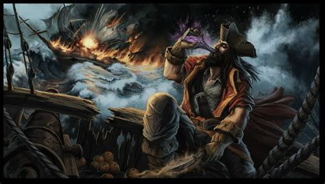 Gangplank Animated Wallpaper - gangplank league of legends