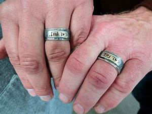 welding wedding rings gold wedding rings With wedding rings for welders
