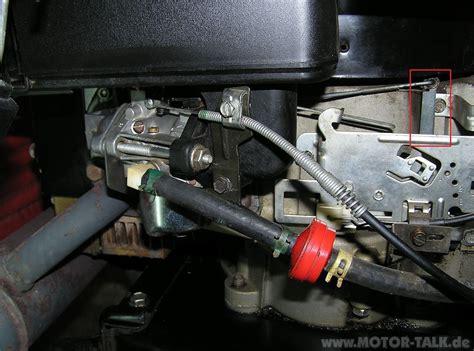 Vergaser1 : Aufsitzmäher mit Briggs + Stratton 11HP Motor ...
