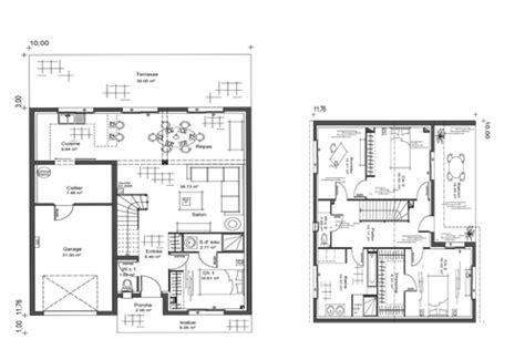 plan de maison a etage moderne plan maison etage moderne meuble oreiller matelas memoire de forme