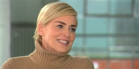 Sharon Stone Says 'ageless Beauty' Doesn't Exist (video