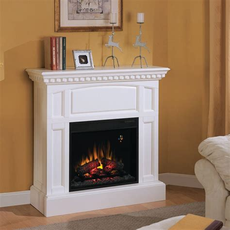 charmglow electric fireplace charmglow 23 in electric fireplace in white discontinued