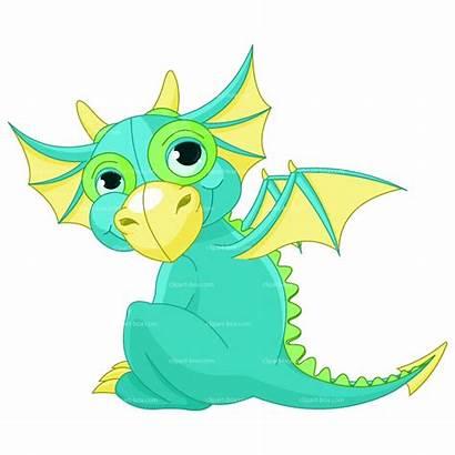 Dragon Clipart Dragons Clip Cartoon Flying Vector