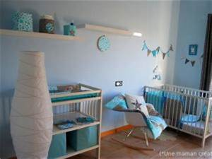 Awesome Decoration Turquoise Chambre Bebe Contemporary