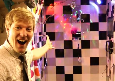 shower karaoke machine colin furze makes singing while bathing more with