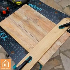 Tuto Bricolage Bois : tuto fabriquer un plateau en bois de palettes bricolage facile ~ Melissatoandfro.com Idées de Décoration