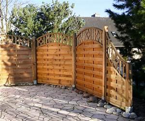 Gartengestaltung Mit Holz : gartengestaltung wieneke uslar referenzen holz im garten sichtschutz pergola ~ Watch28wear.com Haus und Dekorationen