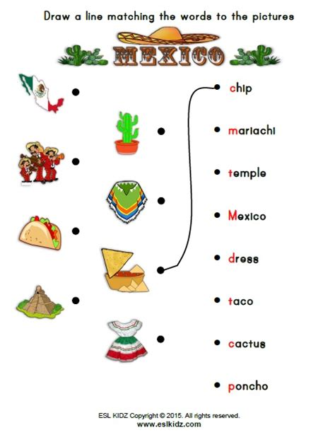 mexico worksheets activities and worksheets for