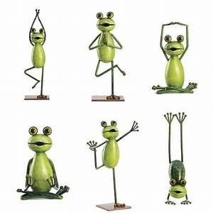 Feng Shui Deko : yoga frosch frog gartendeko dekoration feng shui buddha meditation froschfigur ebay ~ Bigdaddyawards.com Haus und Dekorationen