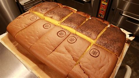 giant sponge cake shop le castella opens  singapore