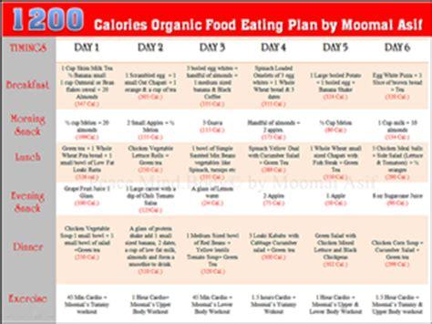 pakistani  calories diet plan