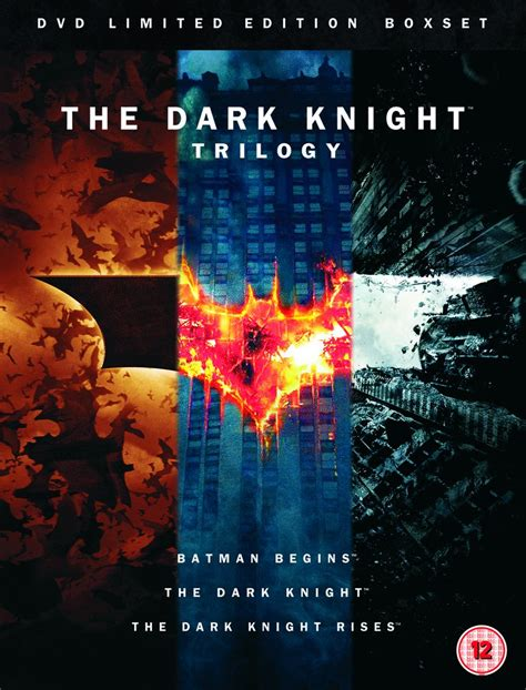dark knight trilogy includes special booklet dvd