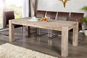 Table En Bois Design : table manger design en bois d 39 acacia canada 200 cm ~ Preciouscoupons.com Idées de Décoration