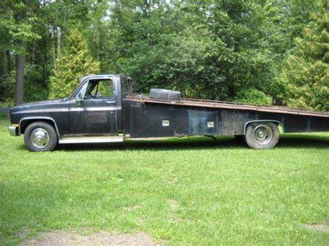 Chevy Ramp Truck Car Hauler