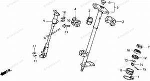 Honda Atv 1986 Oem Parts Diagram For Steering Shaft