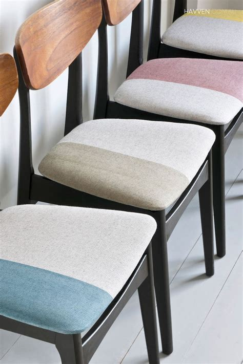Upholstery Material For Chairs by Dyeing Painting Fabric With Chalk Paint Padded Folding