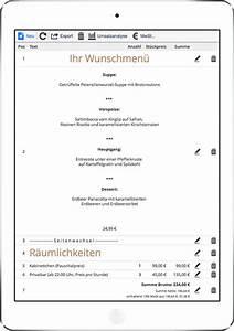 Restaurant Rechnung : gastronomie software restaurant software gastro bankett ~ Themetempest.com Abrechnung
