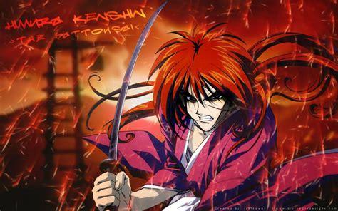 Wallpaper Samurai-x Kenshin Himura
