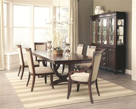 Coaster Furniture 9-pc Alyssa Formal Dining Set Can You Resurface A Bathtub Yourself How To Fix Leaking Toy Holder Diy Cracked Fiberglass Choose Shower Doors Epoxy Paint Refinishing Northern Michigan Large Is Standard