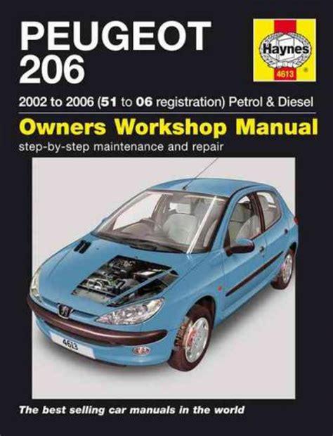 what is the best auto repair manual 2006 dodge dakota club interior lighting peugeot 206 petrol diesel 2002 2006 haynes service repair manual sagin workshop car manuals