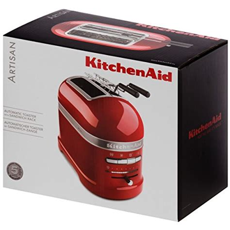 Kitchenaid Tostapane Prezzo by Kitchenaid 5kmt2204eer Tostapane