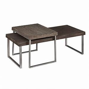 palermo set of 2 nested cocktail tables 7618371 hsn With palermo coffee table