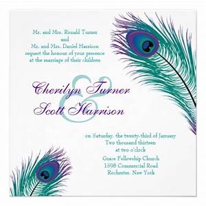 a peacock to perfection wedding invitation cheap peacock With inexpensive peacock wedding invitations